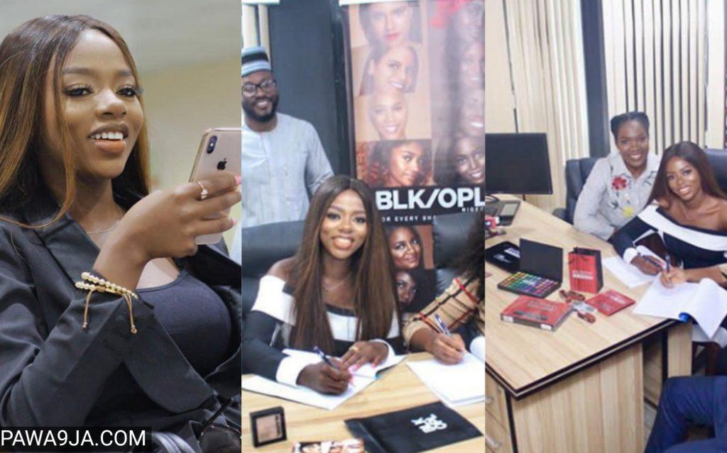 Diane Bags Endorsement Deal With Nigeria's Leading Cosmetics Brand Distributors, Kuddy Cosmetics