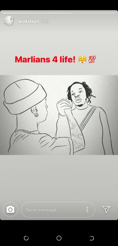 Marlians For Life!! Wizkid Officially Decleares Himself A Marlian