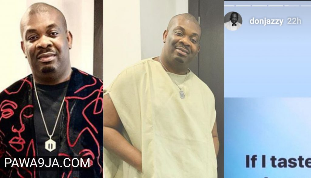 """ If I Taste Sex And It's Not Sweet, All Of You Are In Trouble "" Don Jazzy Threatens"