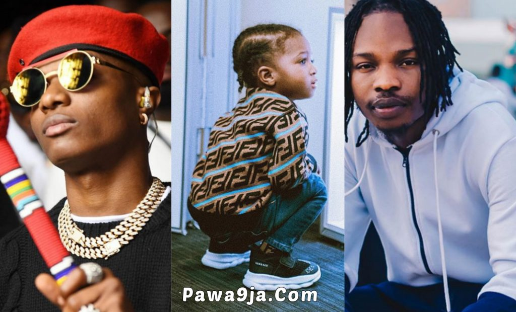 Wizard Shares Adorable Video Of His Son, Zion Dancing To Naira Marley's Song ' Soapy '