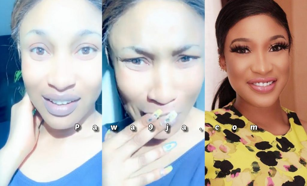 ' I was never deported, stop spreading fake news ' – Tonto Dike Clearifies (Video)