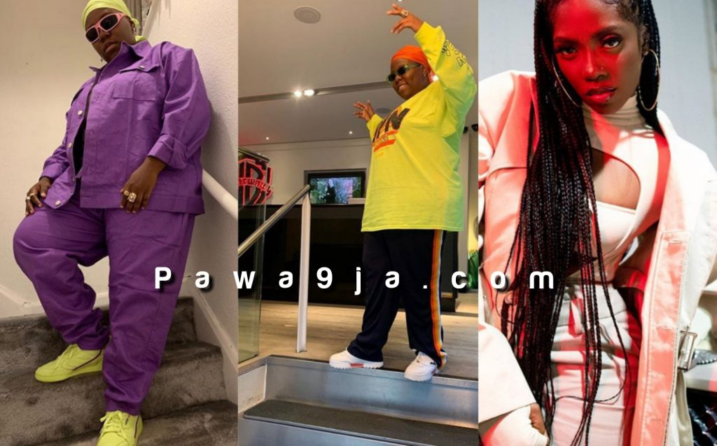 Singer Teni narrates how Tiwa Savage stood up to greet her on a plane