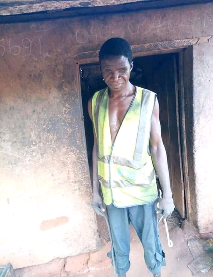 HeartMelting Story Of A Blind Man That Works As A Vulcanizer