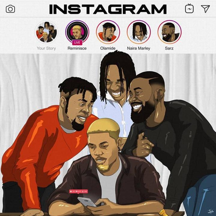 Reminisce - ' Instagram ' ft. Olamide, Naira Marley & Sarz