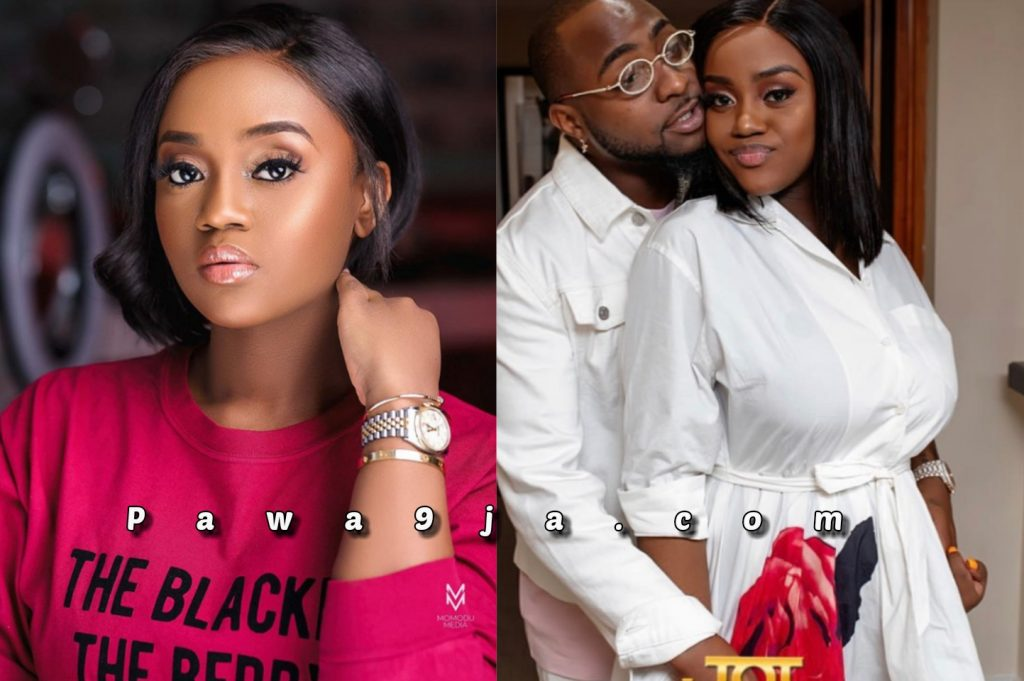 Davido's Wife to be, Chioma Reveals How She Fought Many Silent Battles This Year