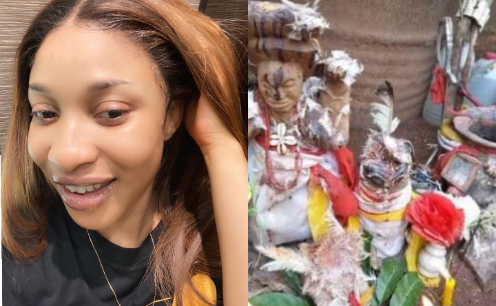 Tonto Dikeh Warns Native Doctors To Avoid Her Dm, Gives Reason, Tells Them What They Should Do