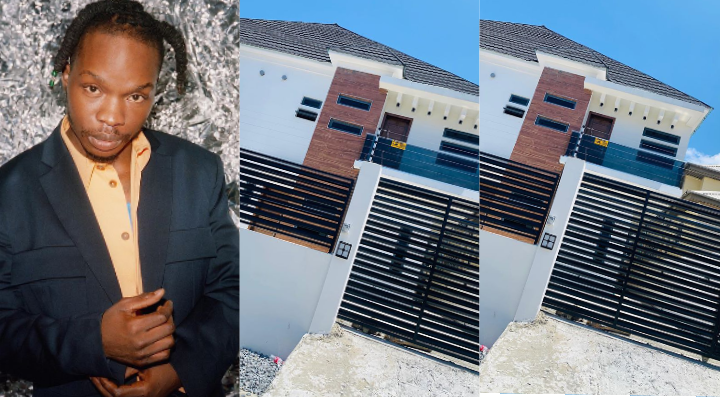 Naira Marley Acquires Duplex for his younger brother (Photos)