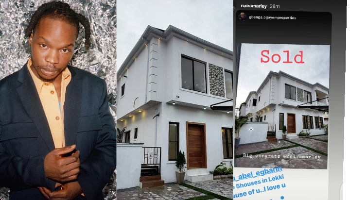 """"""" I have 5 houses in Lekki """" - Naira Marley reveals as he shows off his new house (Photos)"""