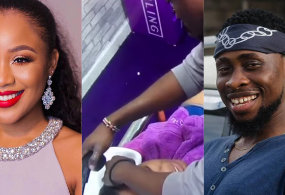 "#BBNaija2020 ""Am i an angry girl,"" - Erica asks Trikytee, he responds (video)"