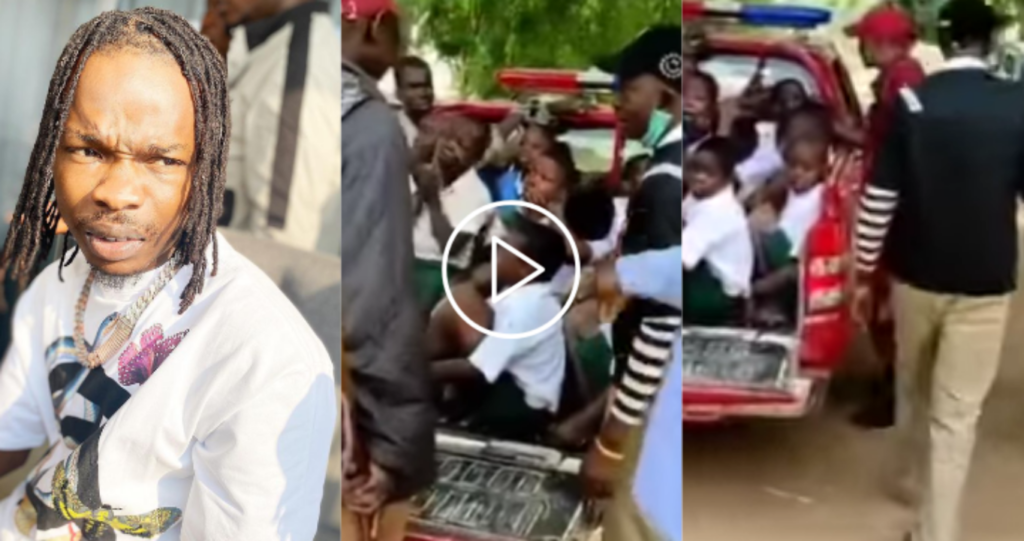 Naira Marley reacts after school children were arrested by Amotekun for modelling themselves as him (video)