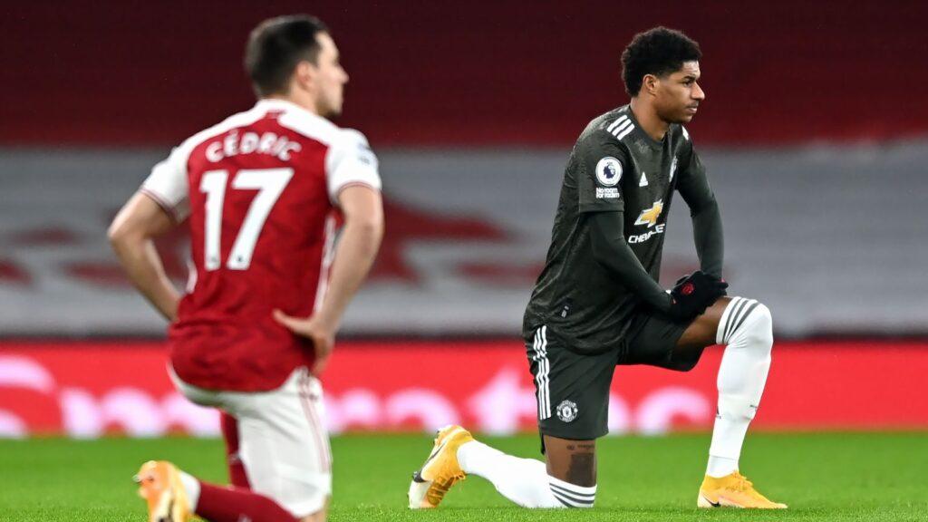 Rashford receives racist abuse following Man Utd draw with Arsenal