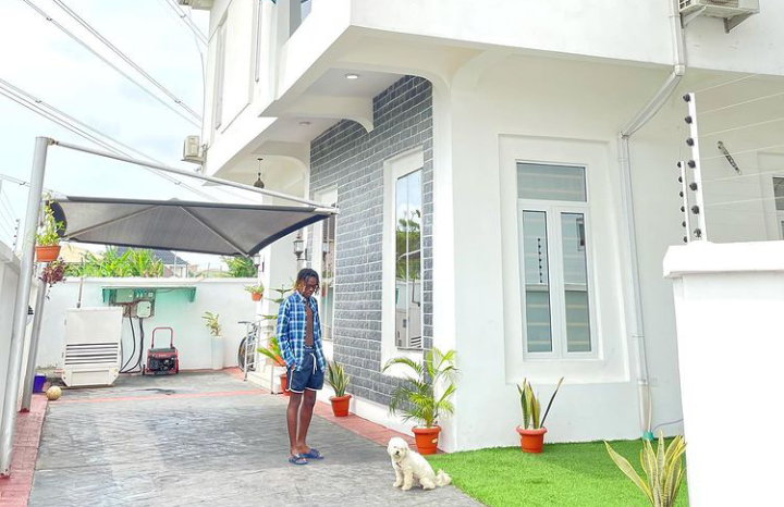 Singer Fireboy DML writes as he acquires brand new apartment (Photos)
