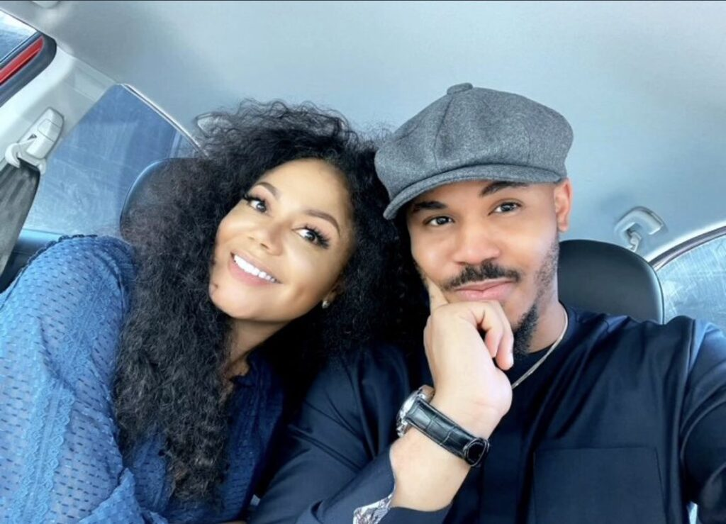 """""""they look like twins"""" - Adorable  pictures of BBNaija's Ozo and Ghanaian Actress, Nadia Buari stirs reactions"""