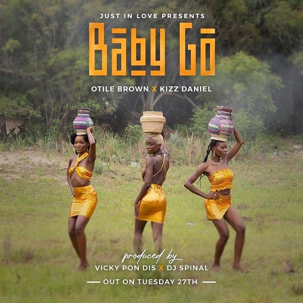 Otile Brown - Baby Go ft Kizz Daniel