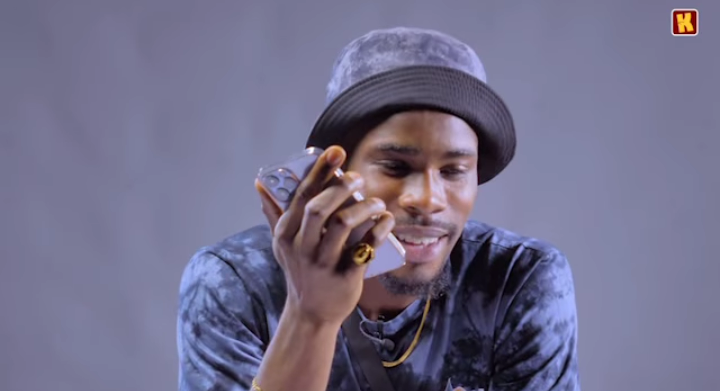 BBNaija's Ozo reacts as Neo tells him that Vee is pregnant in a prank video (Video)