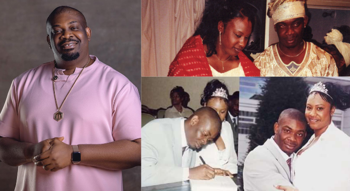 DonJazzy's ex-wife, Michelle sends message to Don Jazzy