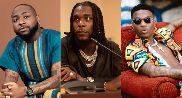 Davido, Wizkid, Burna Boy and others makes Forbes' Africa Icons List (details)