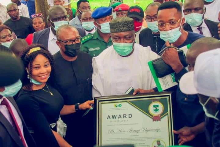 Nigeria Nsukka received the Former Governor of Anambra State Mr. Peter Obi