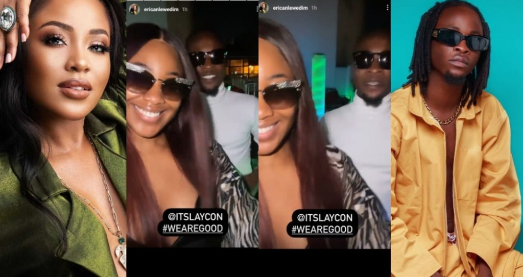 """""""We are good now"""" - BBNaija's Erica and Laycon reveals as they finally settles their beef (Video)"""