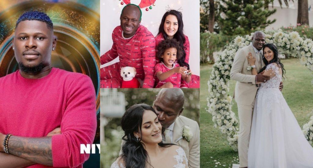 Meet BBNaija housemate, Niyi's beautiful Wife, Bella and their kid (Video/Photos)