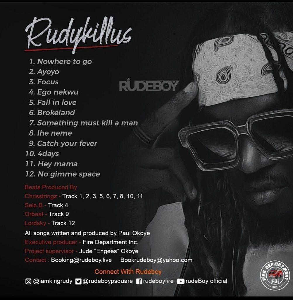 Rudeboy - Rudykills (Album)