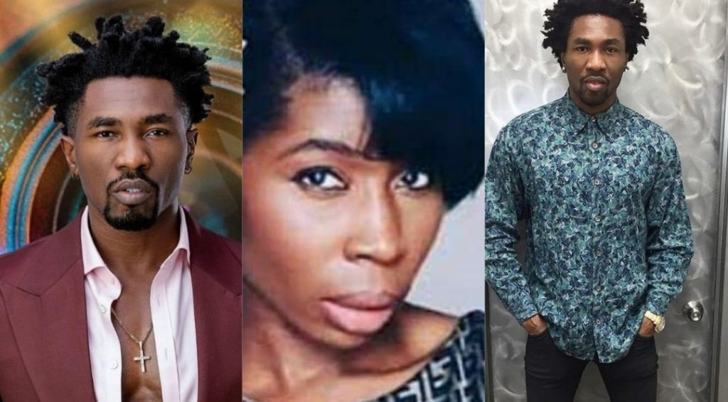 #BBNaija: Boma replies his Ex-Wife for saying that his bad character will come to light
