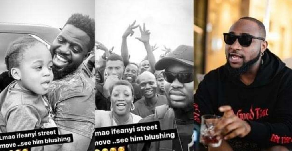 See Davido's son's reaction after Davido allowed him meet his massive fans for the first time (Video)