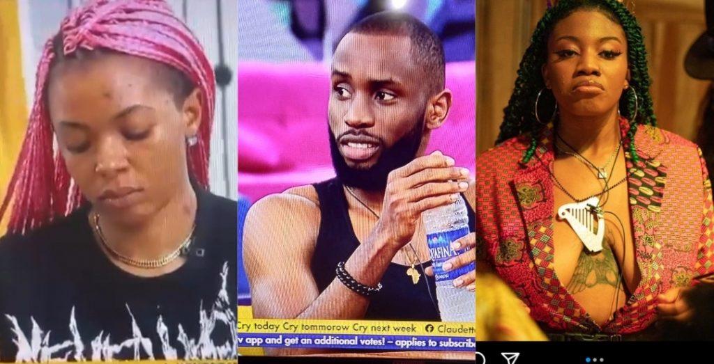 #BBNaija: Liquorose reacts after she caught Emmanuel flirting with Angel (Video)