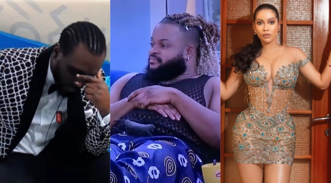 #BBNaija: What WhiteMoney said while Pere was furious with Maria for shunning him at the party (Video)